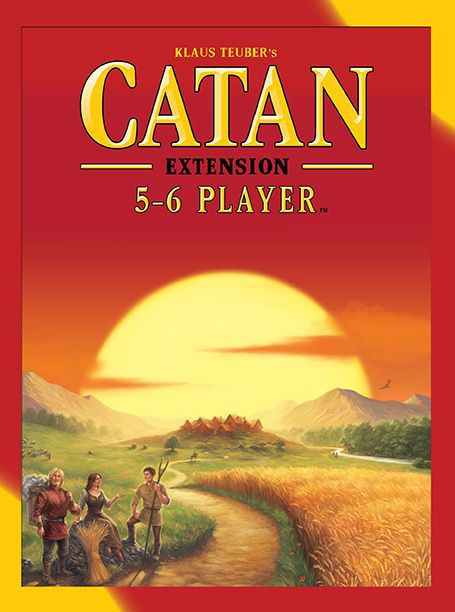 Catan 5 6 Player Extension