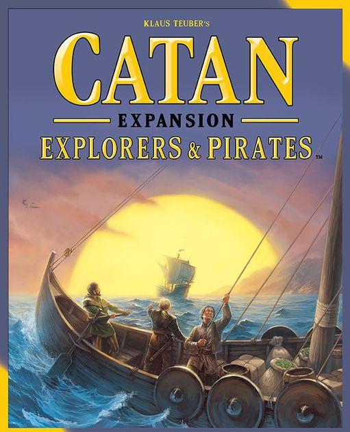 Catan Explorers and Pirates