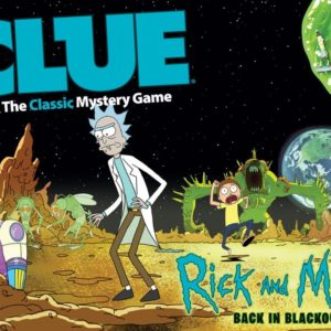 Clue: Rick and Morty Back in Blackout Edition