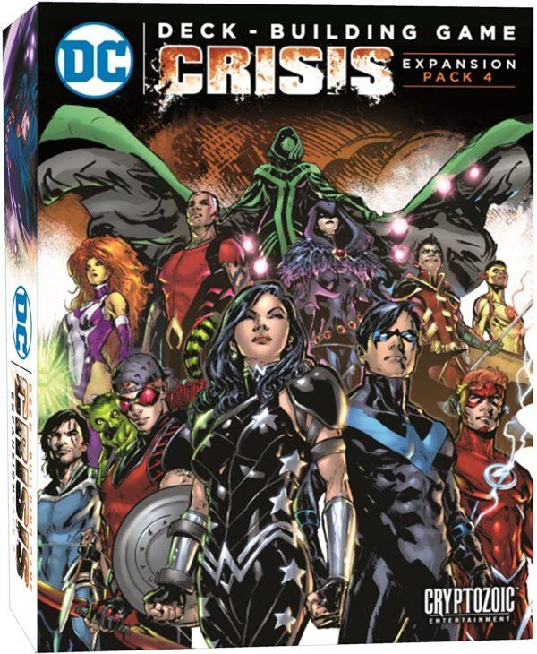 DC Comics Deck-Building Game Expansion Pack 4