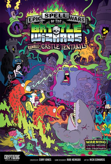 Epic Spell Wars of the Battle Wizards Rumble at Castle Tentakill