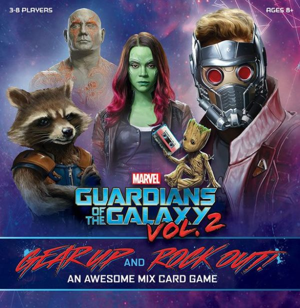 Guardians of the Galaxy Vol 2 Gear Up and Rock Out An Awesome Mix Card Game