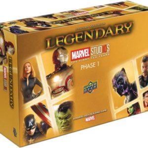 Legendary Marvel Studios First Ten Years Phase 1