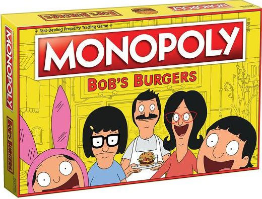 Monopoly Bobs Burgers