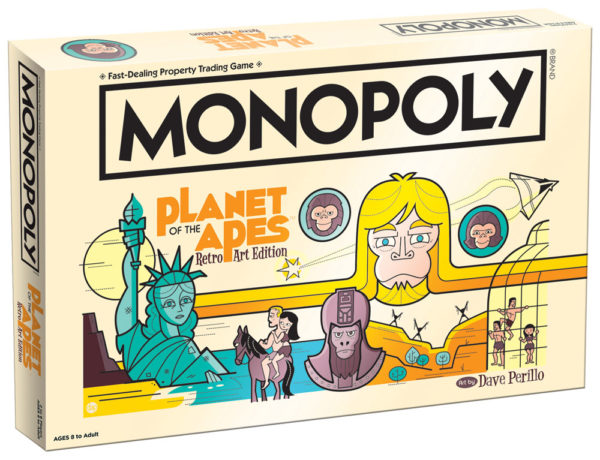 Monopoly Planet of the Apes