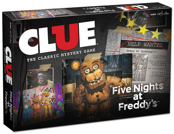 clue five nights at freddys