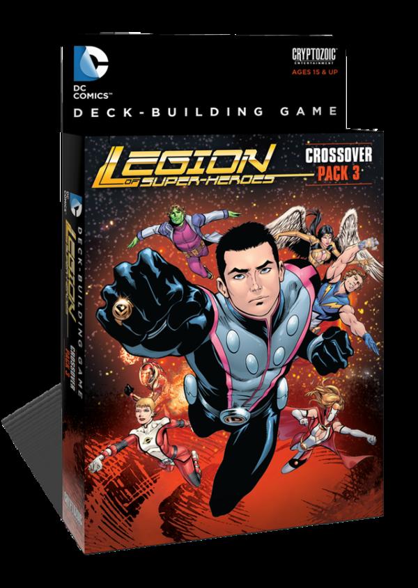 dc comics deckbuilding game crossover pack 3