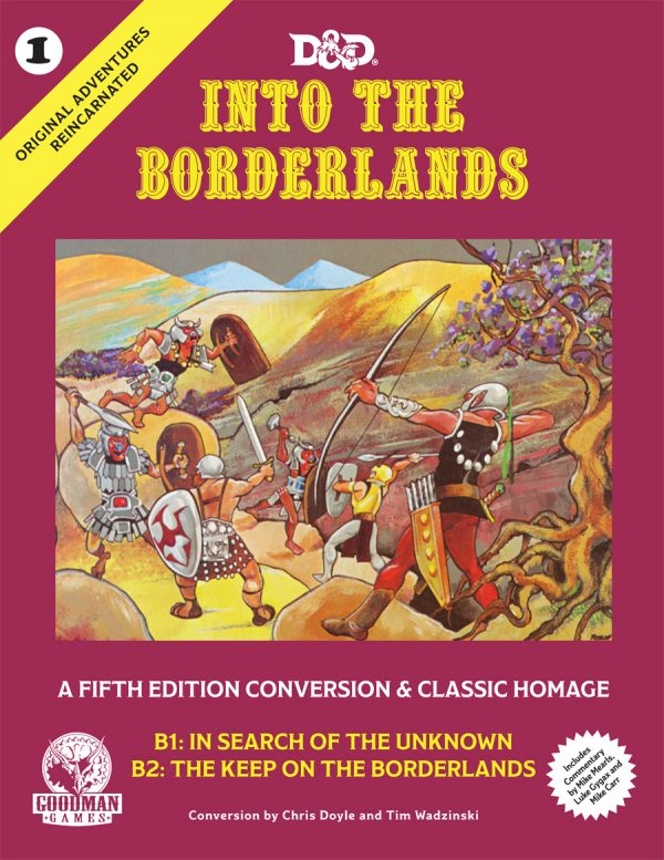 into the borderlans