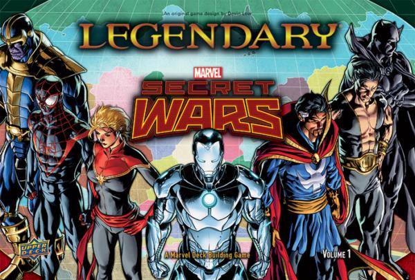 legendary secret wars vol 1