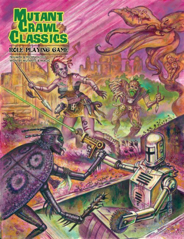 mutant crawl classic core book