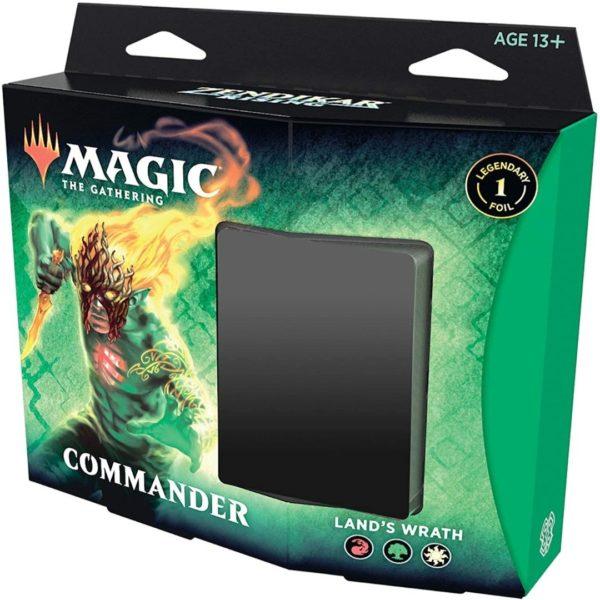 ZendikarRisingCommanderLandsWrath-MagicTheGathering