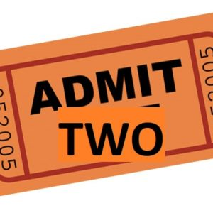 2x Entry Ticket